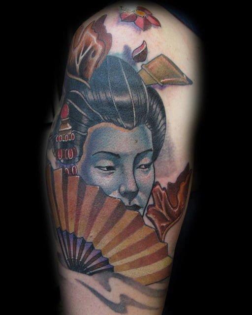 Tatuaje Geisha