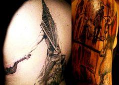 Tatuaje Silent Hill