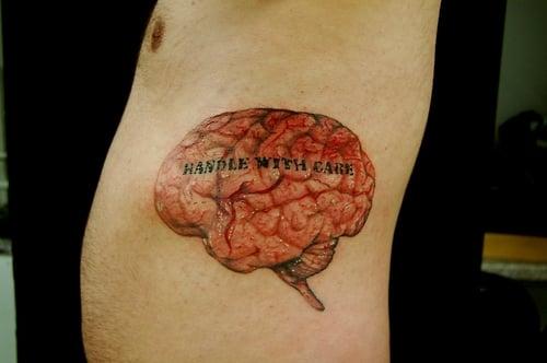 Tatuaje cerebro