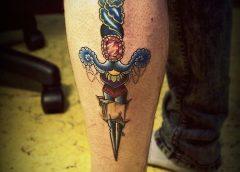 Tatuaje daga
