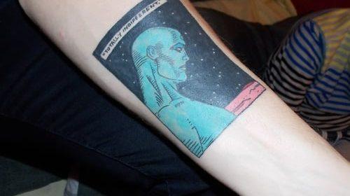 Tatuaje de Calvin