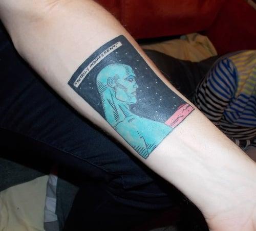 Tatuaje de Watchmen