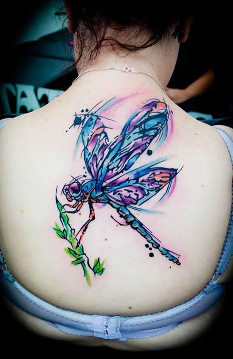 Tatuaje libelula