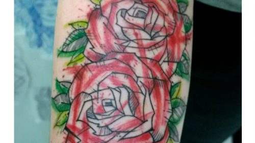 Tatuaje de Ninfa