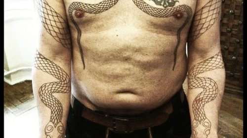 Tatuaje de Geisha