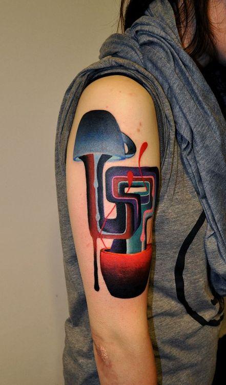 Tatuaje tazas café
