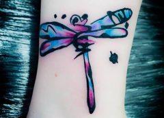Tatuaje Dragonfly