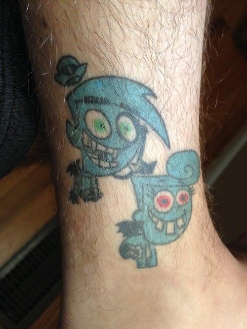 Tatuaje Padrinos Mágicos