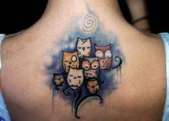 Tatuaje buhos