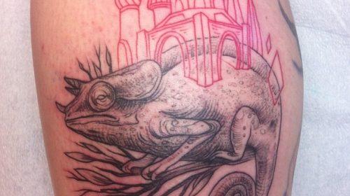 Tatuaje de símbolo del Doctor Who