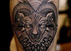Tatuaje carnero