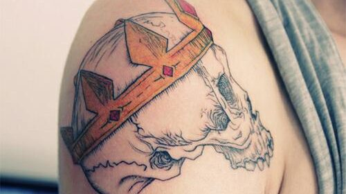 Tatuaje de monos sabios