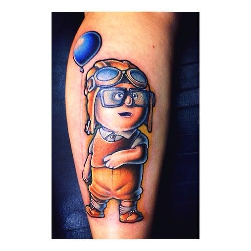 Tatuaje de Up!