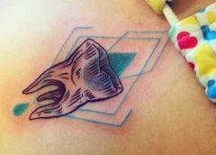 Tatuaje diente