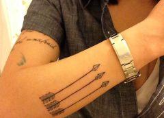 Tatuaje flechas