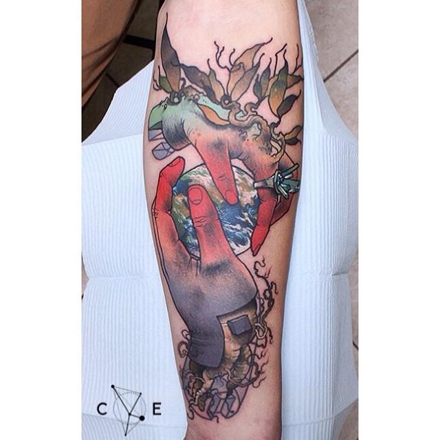 Tatuaje manos