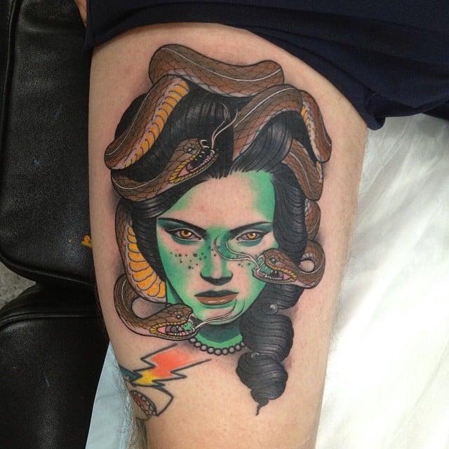 Tatuaje medusa