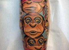 Tatuaje monos