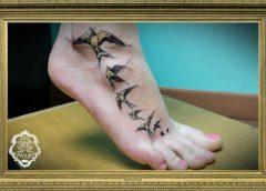Tatuaje pájaros
