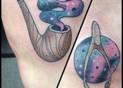 Tatuaje pipa