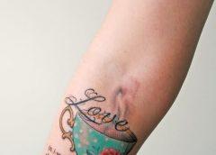 Tatuaje taza café