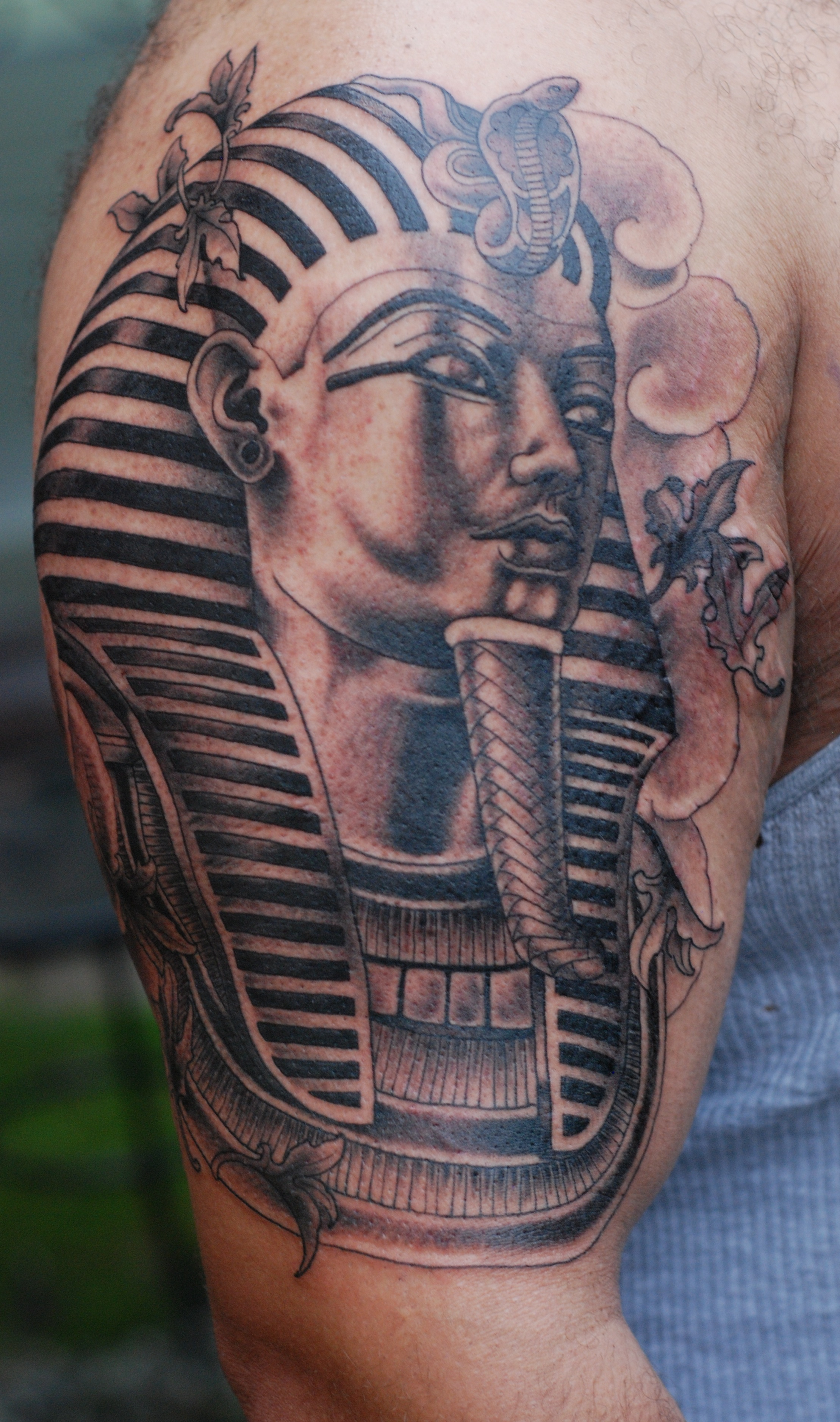 Tatuaje Tutankamón