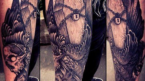 Tatuaje de Tutankamón