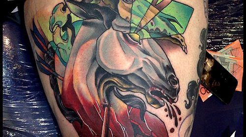 Tatuaje de Jack Skellington
