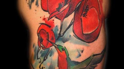 Tatuaje de pavo real