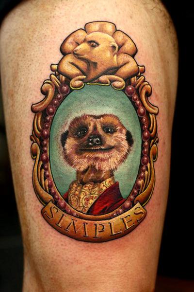 Tatuaje suricato