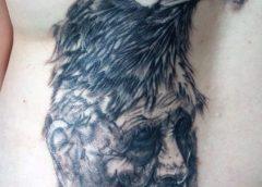Tatuaje chamán anciano