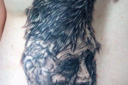 Tatuaje de reyes de poker