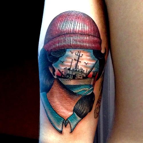 Tatuaje marinero