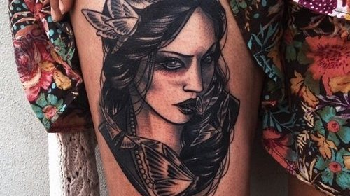 Tatuaje de cocodrilo