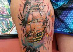 Tatuaje velero