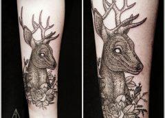 Tatuaje venado
