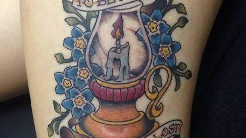 Tatuaje de diosa egipcia
