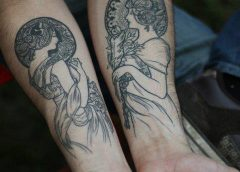Tatuaje Art Nouveau