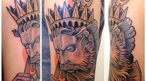 Tatuaje de laberinto