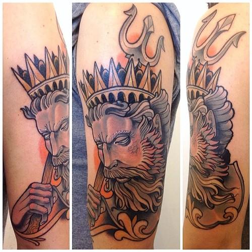 Tatuaje Poseidón
