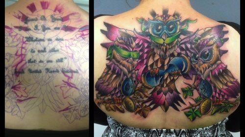 Tatuaje de macho cabrío
