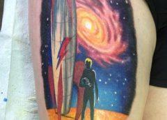 Tatuaje de Ciencia ficción