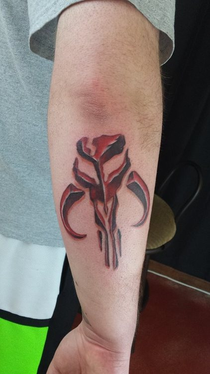 Tatuaje de Mandaolorian
