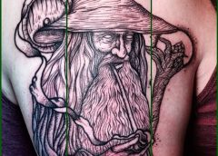 Tatuaje druida