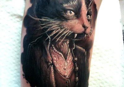 Tatuaje cobertura de perro