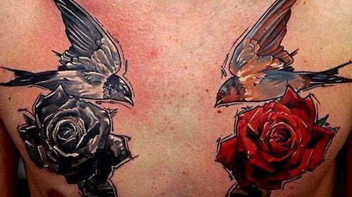 Tatuaje de zorro sonriente
