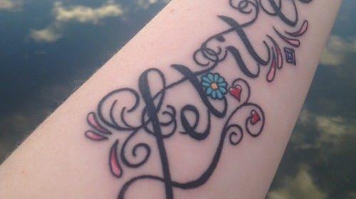 Tatuaje de serpiente troceada