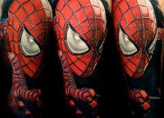 Tatuaje Spiderman