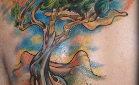 Tatuaje de medusas en el brazo
