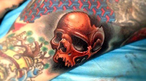 Tatuaje de vampiresa